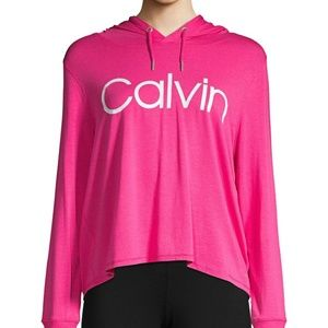Calvin Klein Performance Hooded Logo Sweatshirt pi